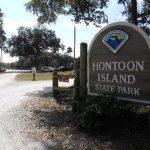 HontoonIslandStateParkSign