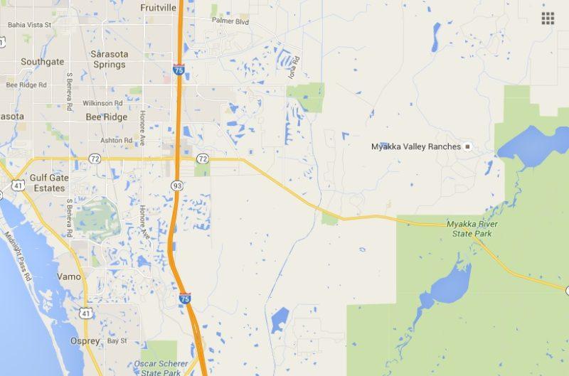 Myakka River State Park and Sarasota Fl area